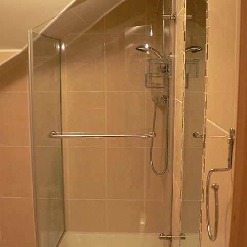 glass ennis clare mcmahon glass products services On under stairs wet room